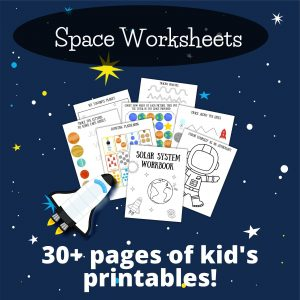 space printables for preschoolers